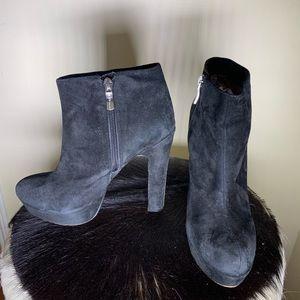 Cutie black suede boots